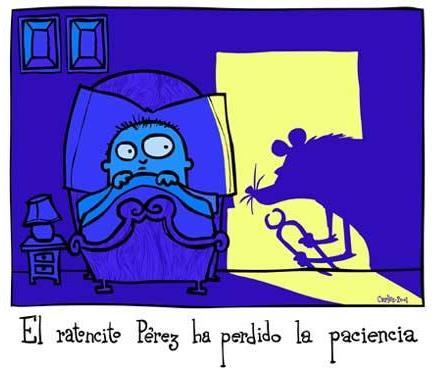Carlos Areces recuerda a Ratón Pérez en esta divertida versión (más ilustradores en la galeria del CVC pinchando la imagen).