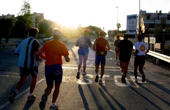 Nos saltamos un Stop - Foto: Commedia, Playa de San Juan (Alicante), Abril de 2009.
